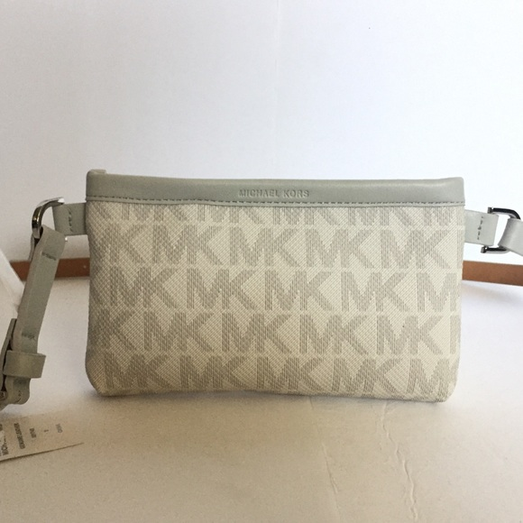 f3bcced90302 Michael Kors Bags | Mk Signature Belt Wallet Fanny Pack S | Poshmark